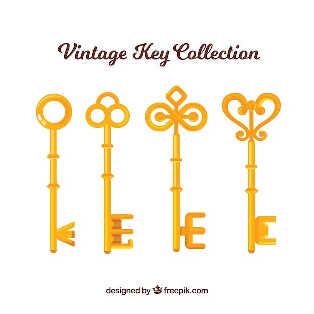 Vintage Key Collection