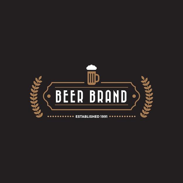 Modello di logo distintivo etichetta vintage Vettore gratuito