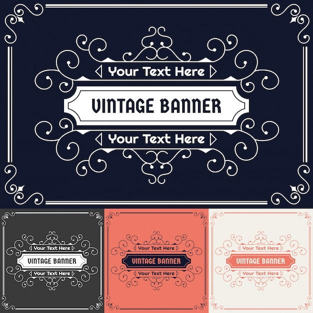 Vintage label design Vector | Free Download