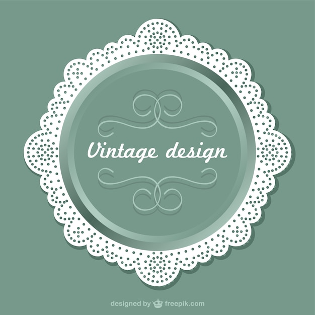 Vintage label design Vector | Free Download