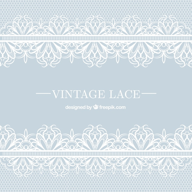 f81b4443a6 Vintage lace background Vector