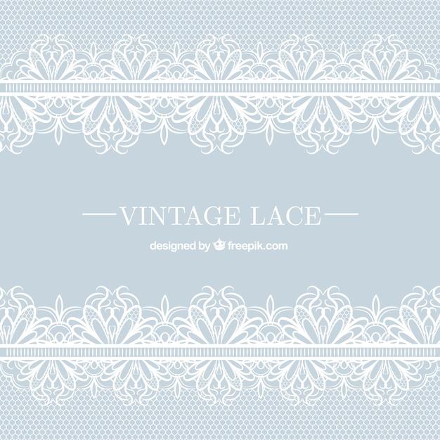 Vintage Lace Background Premium Vector