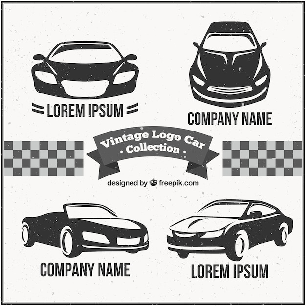 Vintage Logo Car Pack Vector Free Download
