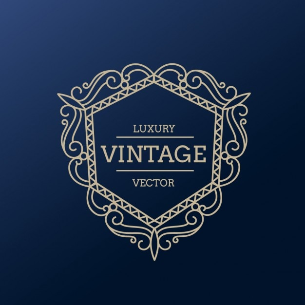 Vintage luxury frame Vector | Free Download