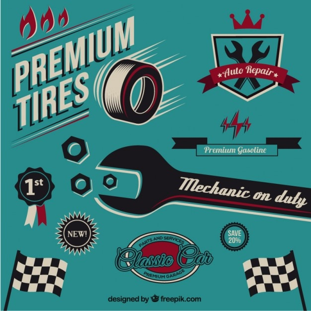 vintage mechanic elements vector free download Download Free Vector Graphics Clip Art Butterfly Vector