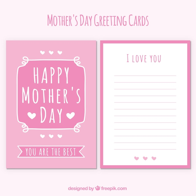vintage mother\'s day greeting card