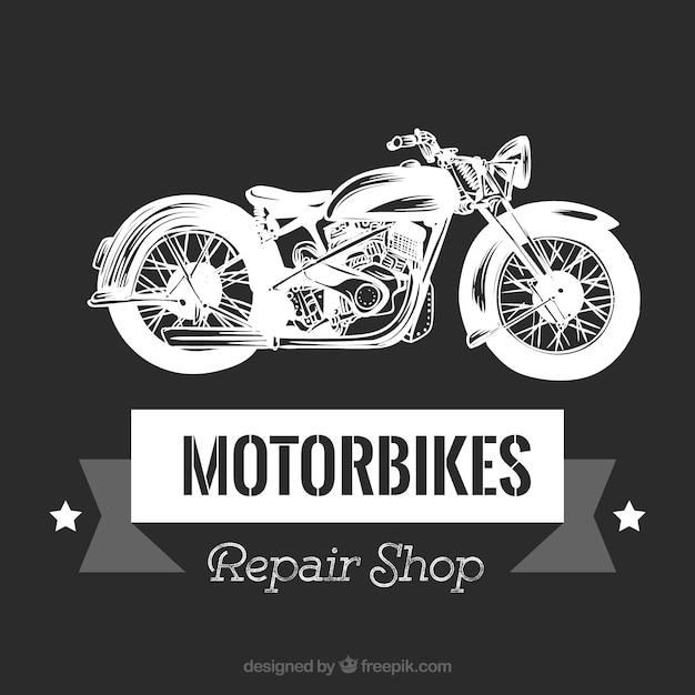 Vintage Motorcycle Emblem