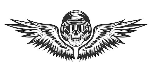 Винтажный логотип ремонта мотоциклов Premium векторы
