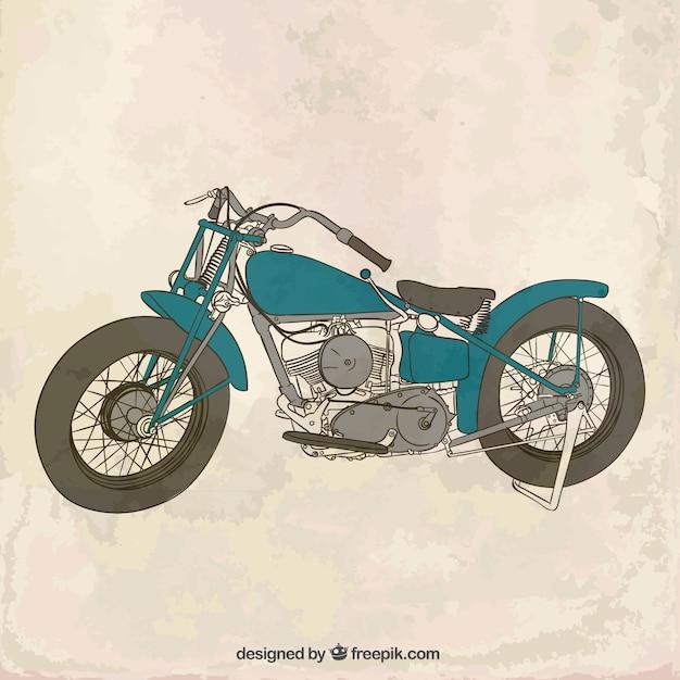 free vintage motorcycle images  Vintage motorcycle Vector | Free Download