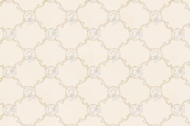 Vintage ornamental pattern Free Vector