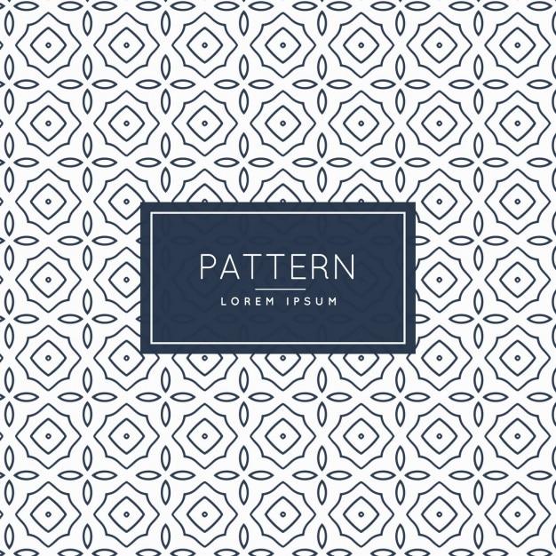 Vintage pattern background Vector | Free Download