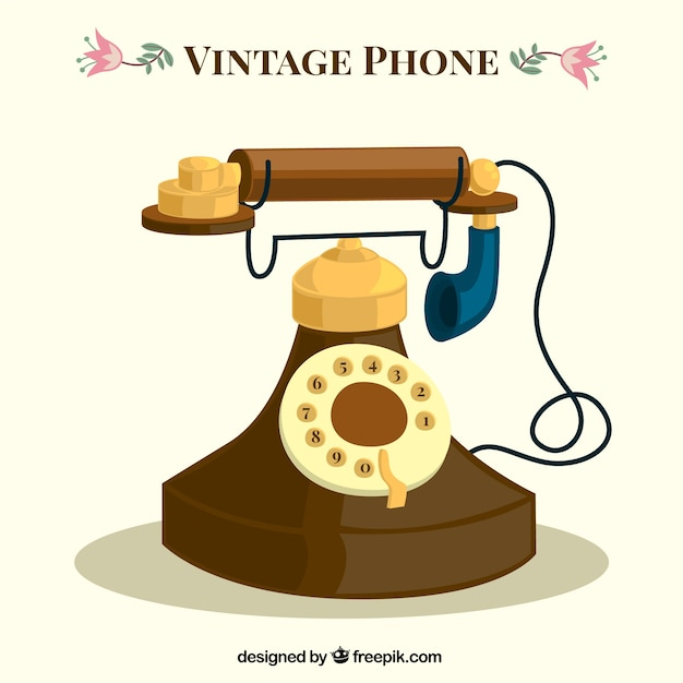 vintage telephone clipart - photo #40