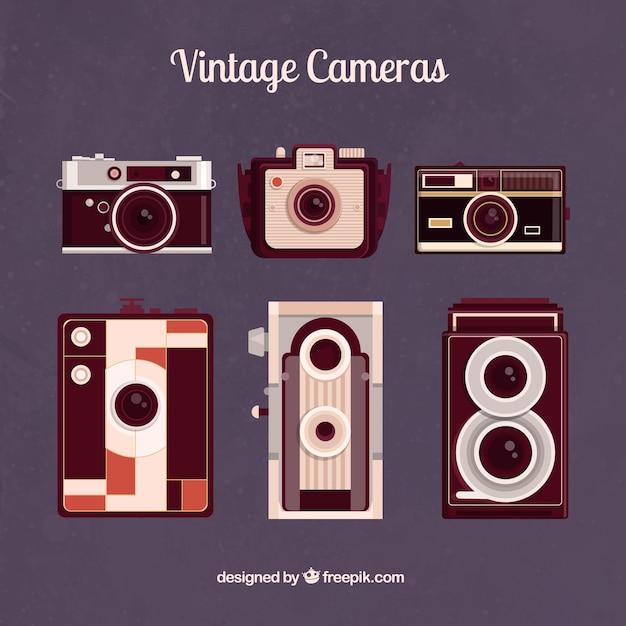 Vintage photography cameras