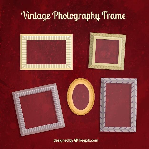Vintage photography frames