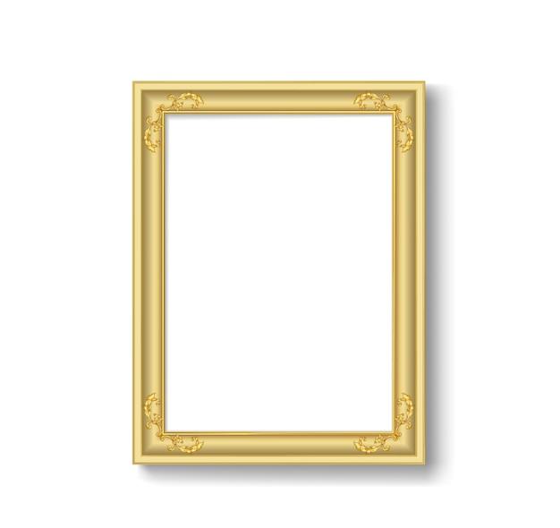 Vintage picture frame Premium Vector