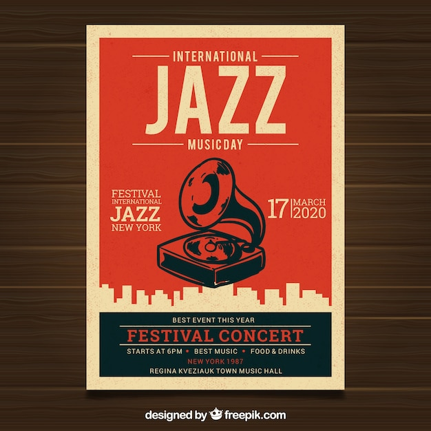 vintage concert poster vectors photos and psd files free download