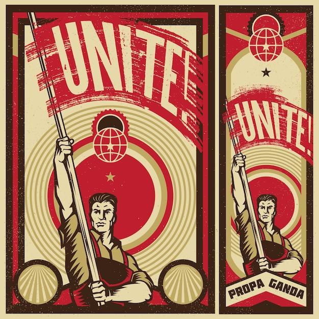 Propaganda Banners Shadow Banners
