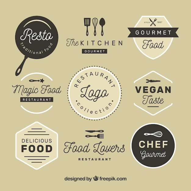 Indian Food Logo Design