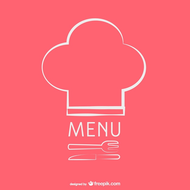 Vintage restaurant menu template Free Vector