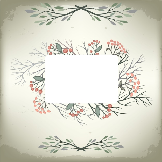 premium vector vintage romantic background with floral frame and embellishments wedding vector design https www freepik com profile preagreement getstarted 2970733