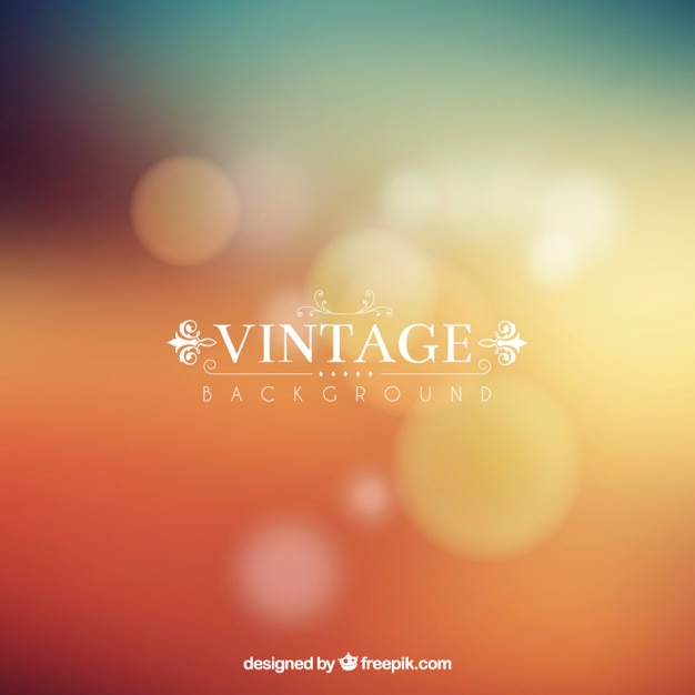 vintage soft blurry background Free Vector