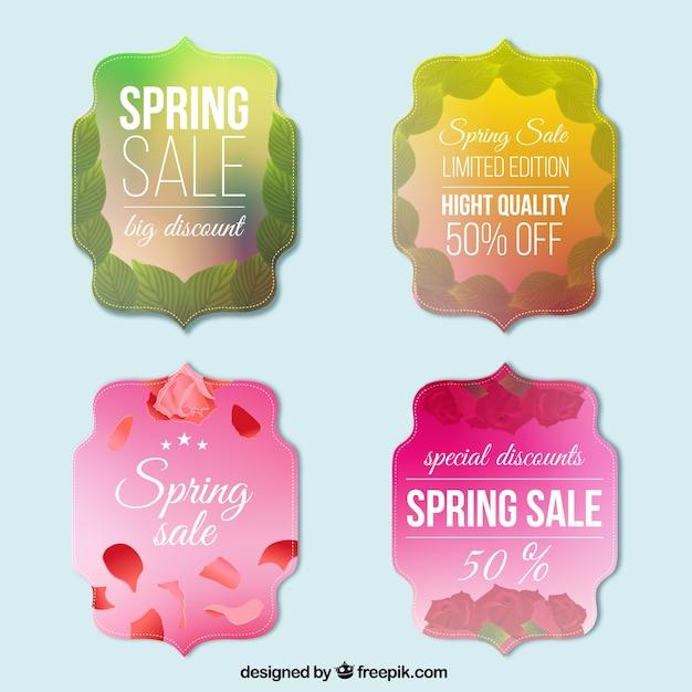 Vintage spring sale badges