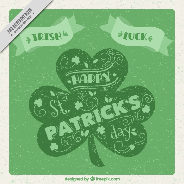 St Patrick S Day Background With Cr Vector Image 269 Rfclipart