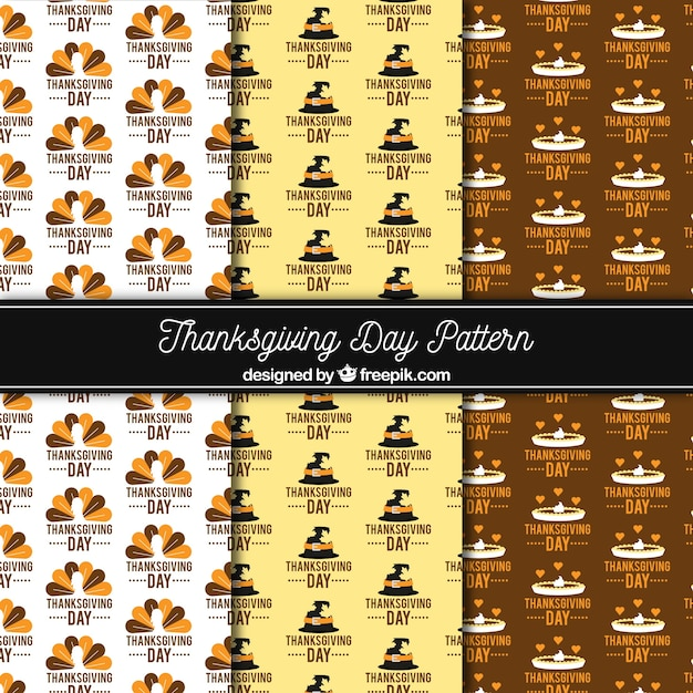 Vintage style thanksgiving collection