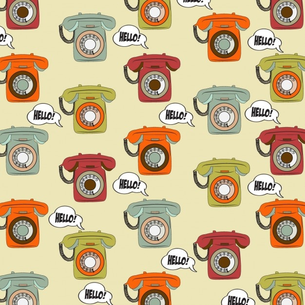 Vintage Phone Backgrounds - Pinterest