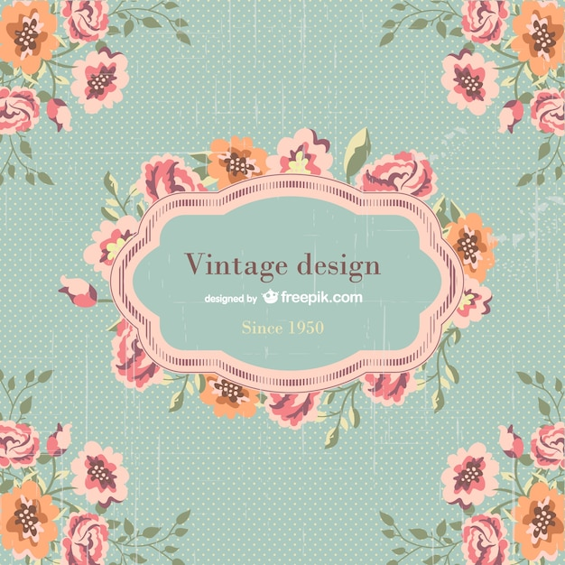 Vintage template design vector free download Blueprint designer free
