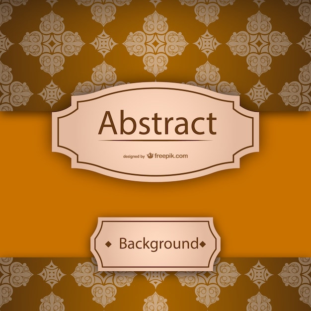 vintage thai background template vector | free download, Powerpoint templates