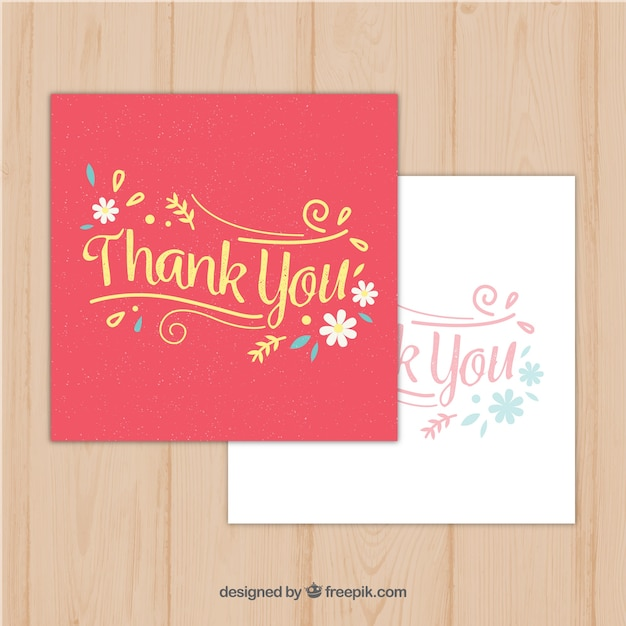 Vintage thank you greeting cards vector free download vintage thank you greeting cards free vector m4hsunfo