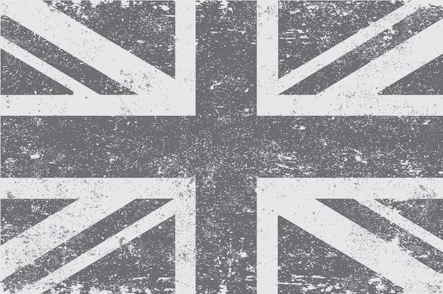 ビンテージ英国旗 Premiumベクター
