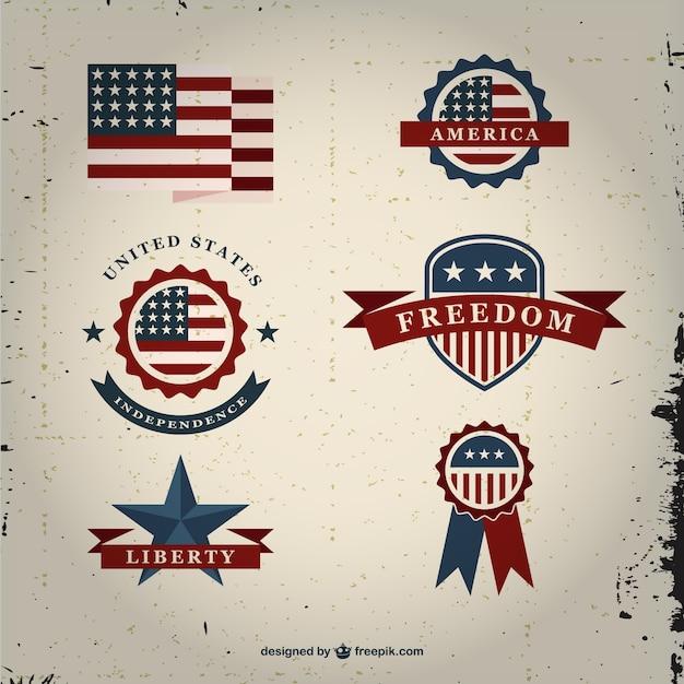 american flag vintage vector - photo #27