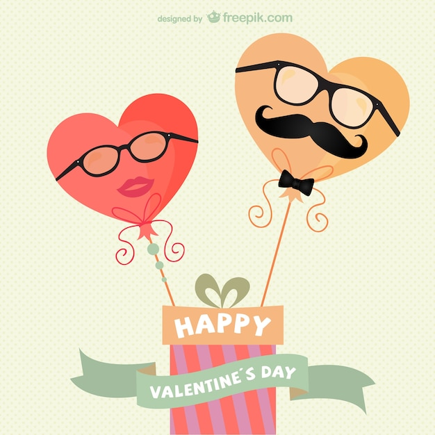 Vintage Valentine\'s card