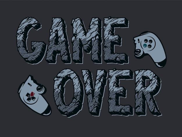 ビンテージビデオゲームイラスト 無料ベクター