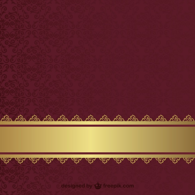 Vintage wallpaper Free Vector