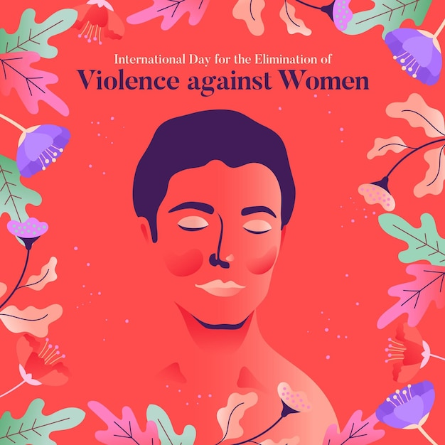 Violence against women Free Vector
