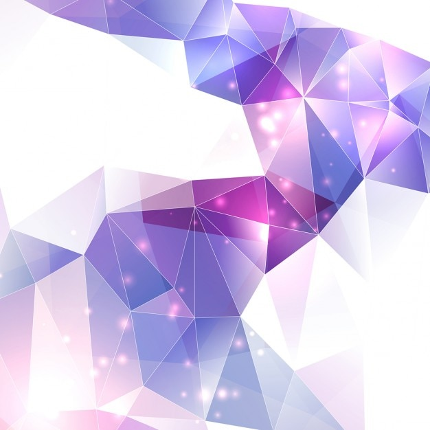 Purple Polygonal Abstract Background: Violet Abstract Background Vector