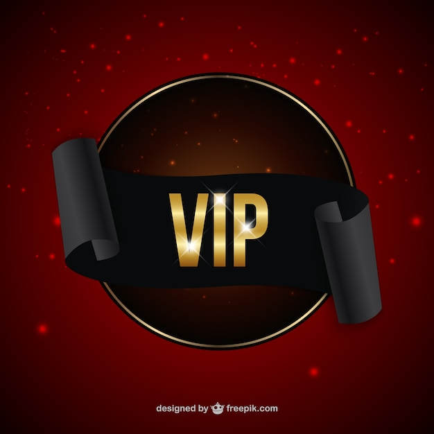 Vip Pass Logo VIP badge Vector   Fre...
