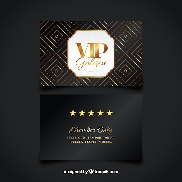 Vip business card vector free download vip business card free vector reheart Choice Image