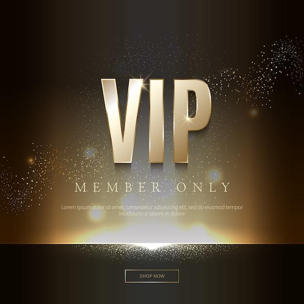 Роскошные vip-приглашения и фоны с купонами Premium векторы