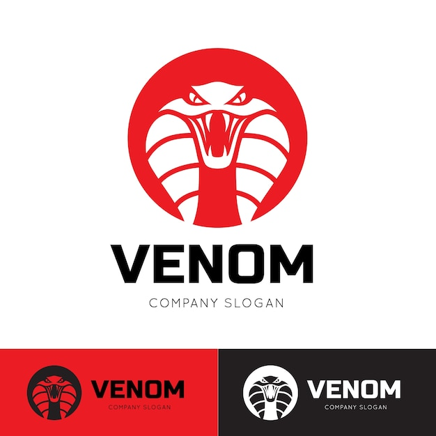 Змея, яд, логотип логотипа viper. Premium векторы
