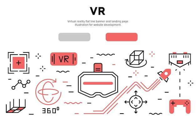 Virtual reality infographic Premium Vector