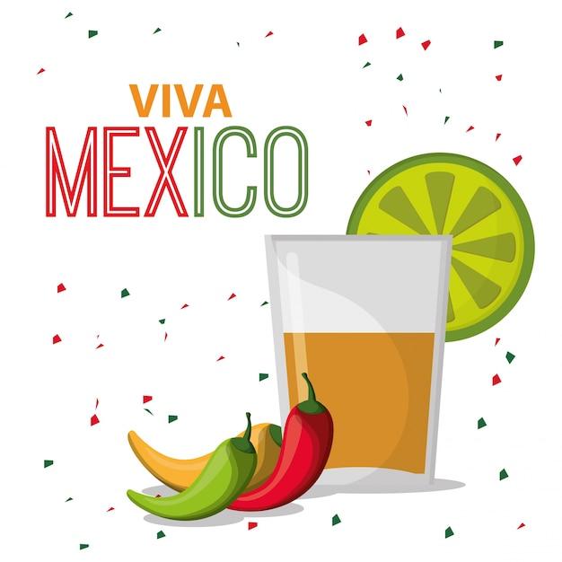 Viva mexico Premium векторы