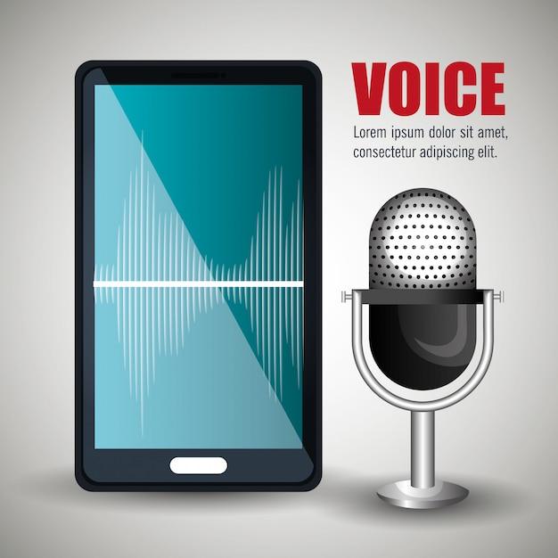 音声の概念 無料ベクター