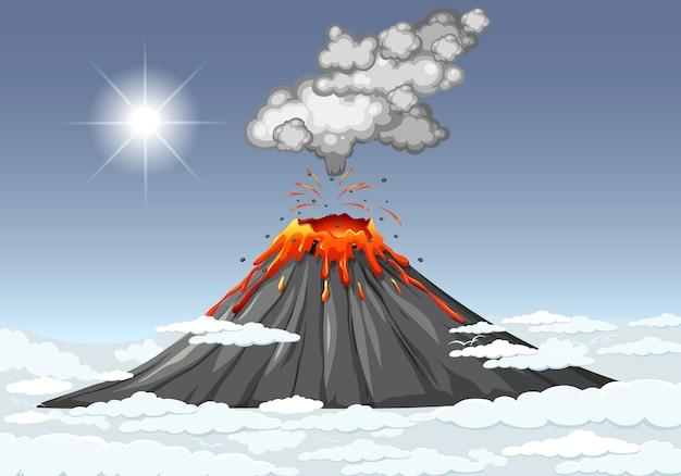 の 噴火 火山