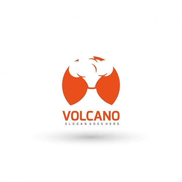 Volcano vectors photos and psd files free download volcano logo template pronofoot35fo Images