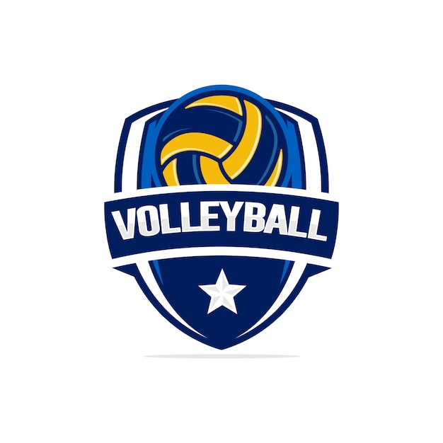 Volleyball Logo Vector Premium Download