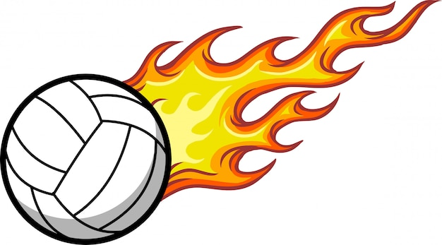 Volleyball Premium Vector